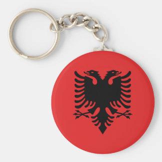 Porte-clés Drapeau de l'Albanie - le Flamuri i Shqipërisë