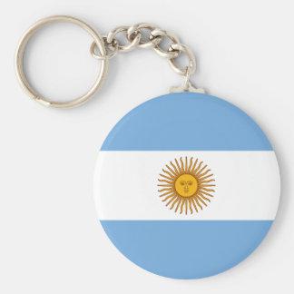 Porte-clés Drapeau de l'Argentine