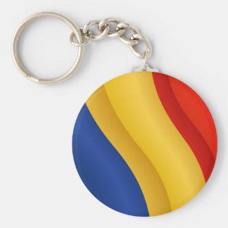 Porte-clés Drapeau de porte - clé de la Roumanie
