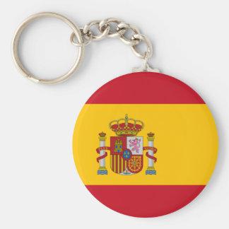 Porte-clés Drapeau de porte - clé de l'Espagne