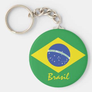 Porte-clés Drapeau du Brésil