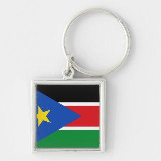 Porte-clés Drapeau du sud du Soudan