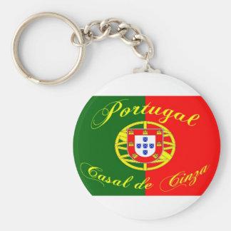 Porte-clés drapeau-portugal