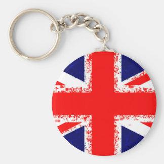 Porte-clés Drapeau R-U de Londres de cric des syndicats