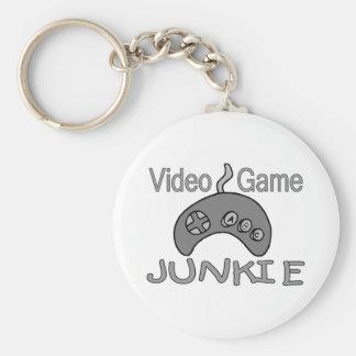 Porte-clés Drogué de jeu vidéo