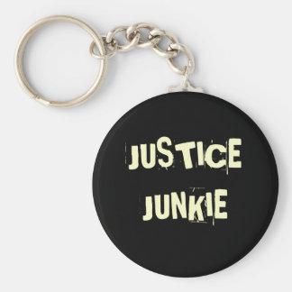 Porte-clés Drogué de justice - surnom et titre drôles