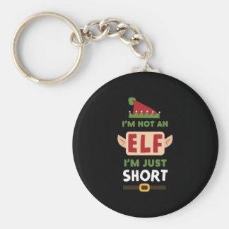 Porte-clés Drôle je ne suis pas Elf que je suis juste copie