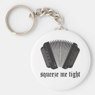 Porte-clés Drôle serrez-moi cadeau serré d'accordéon