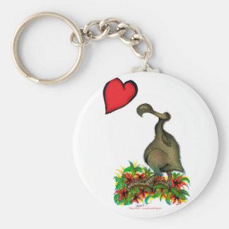 Porte-clés dronte élégante de l'amour des fernandes