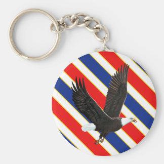 Porte-clés Eagle chauve américain
