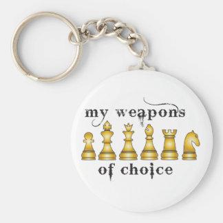 Porte-clés échecs, mon arme de choix