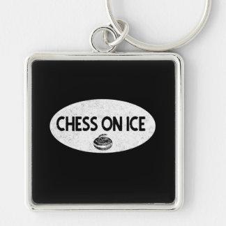 Porte-clés Échecs sur le porte - clé de bordage de glace