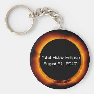 Porte-clés Éclipse 2017 solaire totale