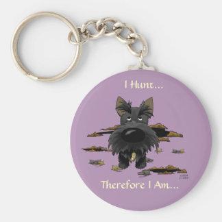 Porte-clés Écossais Terrier (Scotties) que je chasse… Porte -