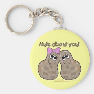 Porte-clés Écrous au sujet de vous !