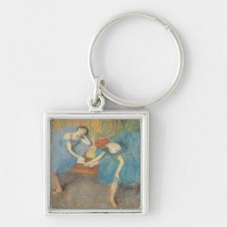 Porte-clés Edgar Degas | deux danseurs au repos, danseurs