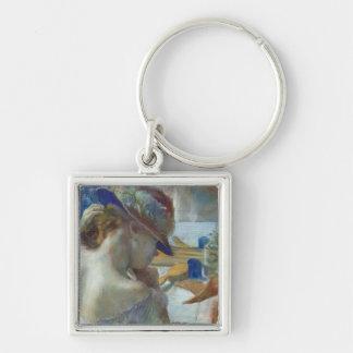 Porte-clés Edgar Degas | devant le miroir, 1889