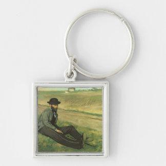 Porte-clés Edgar Degas   Eugene Manet
