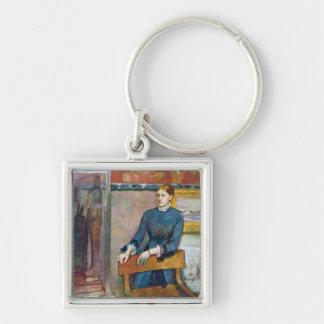 Porte-clés Edgar Degas | Helene Rouart dans l'étude de son