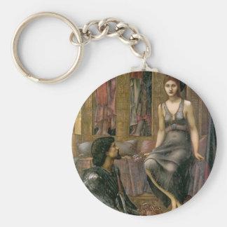 Porte-clés Edouard - le Roi Cophetua et la domestique de