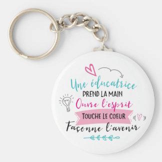 Porte-clés éducatrices