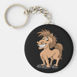 Porte-clés effronté de poney