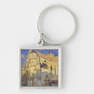 Porte-clés Église d'Alfred Sisley | chez Moret, temps givré