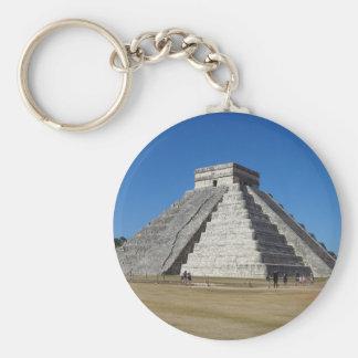 Porte-clés EL Castillo - Chichen Itza, porte - clé du Mexique