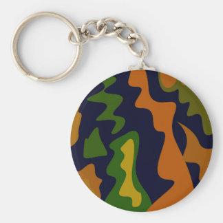Porte-clés Éléments d'ethno de conception