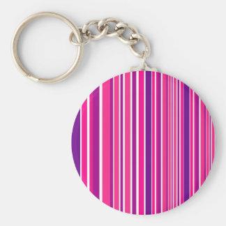 Porte-clés Éléments en bambou roses de conception