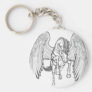 Porte-clés Élevage du cheval de Pegasus