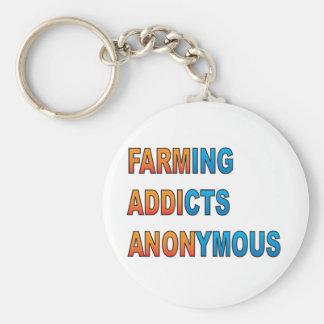 Porte-clés Élevant des intoxiqués anonymes