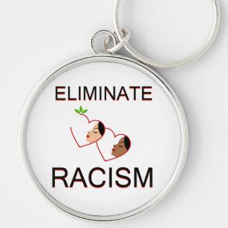 Porte-clés Éliminez le racisme