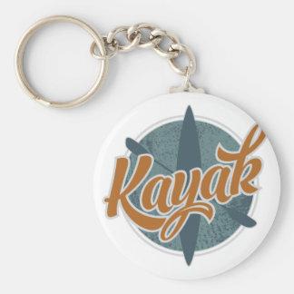 Porte-clés Emblème de kayak