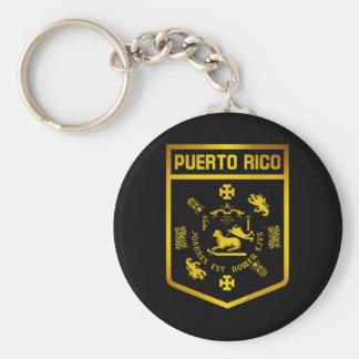 Porte-clés Emblème de Porto Rico