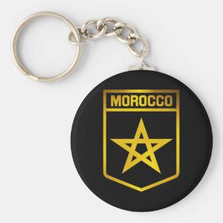 Porte-clés Emblème du Maroc