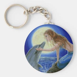 Porte-clés Embrassez-moi porte - clé d'imaginaire de sirène