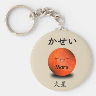 Porte-clés Emoji de Mars