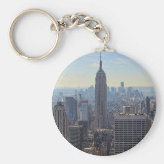 Porte-clés Empire State Building d'horizon de ville de NY,