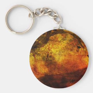 Porte-clés En bois de chêne