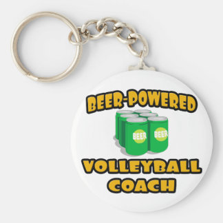 Porte-clés Entraîneur Bière-Actionné de volleyball