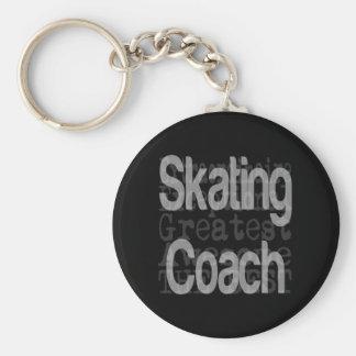 Porte-clés Entraîneur de patinage Extraordinaire