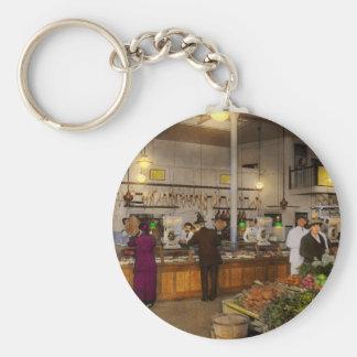 Porte-clés Épicerie - boucher - vente sur le porc aujourd'hui