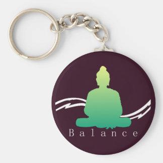 """Porte-clés """"Équilibre"""" beau Bouddha"""