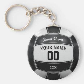 Porte-clés Équipe nommée de l'année du joueur de volleyball