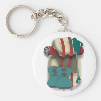 Porte-clés Équipement de randonnée
