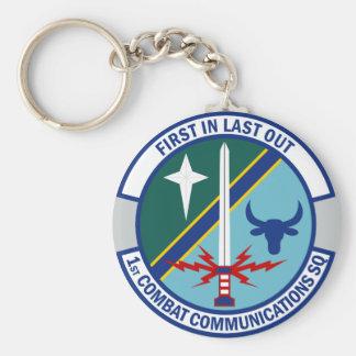 Porte-clés ęr Escadron de communications de combat