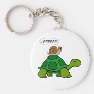 Porte-clés Escargot et tortue - duo de Turbo