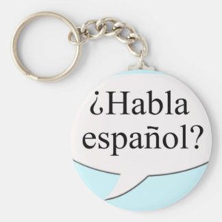 Porte-clés Español de Habla de ¿ ? Parlez-vous espagnol ?