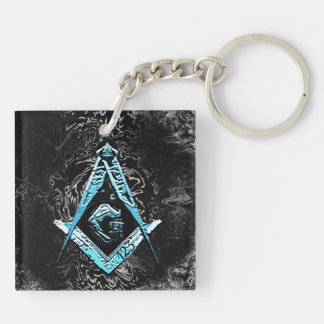 Porte-clés Esprits maçonniques (BrightBlueSwish)